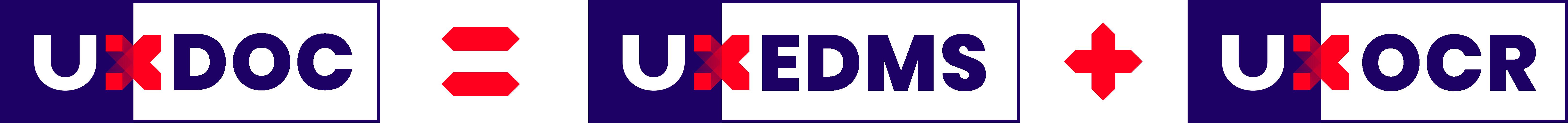 UX DOC = UXEDMS + UXOCR